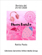 Ratita Paola - Revista del25/03/2020