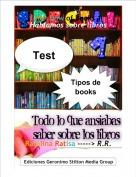 Ratolina Ratisa -----> R.R. - Rainbow of Books 1Hablamos sobre libros