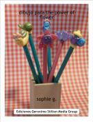 sophie g. - dibujo para the power of flower