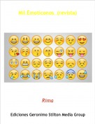 Rima - Mil Emoticonos  (revista)