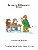 Geronimo Stilton - Geronimo Stillton word leraar