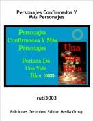 ruti3003 - Personajes Confirmados Y Más Personajes