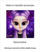 RatoncitaStar - Nada es imposible personajes