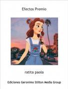 ratita paola - Efectos Premio