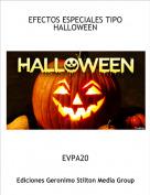 EVPA20 - EFECTOS ESPECIALES TIPO HALLOWEEN