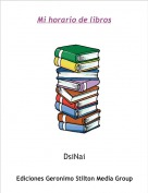 DsiNai - Mi horario de libros