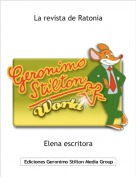Elena escritora - La revista de Ratonia