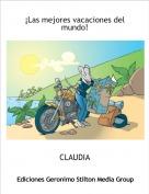 CLAUDIA - ¡Las mejores vacaciones del mundo!