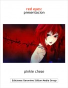 pinkie chese - red eyes: