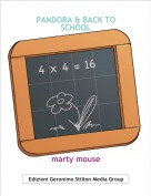 marty mouse - PANDORA & BACK TO SCHOOL