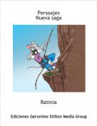 Ratinia - Persoajes Nueva saga