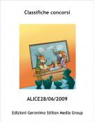 ALICE28/06/2009 - Classifiche concorsi