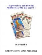 martopella - il giornalino dell'Eco del Roditore(scritto dai topini )
