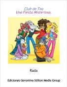 Rada - Club de TeaUna Fiesta Misteriosa.