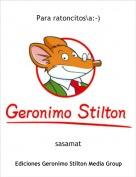 sasamat - Para ratoncitos\a:-)