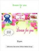Elyon - Dream for you 