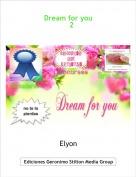 Elyon - Dream for you    2