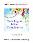 Topina 2010 - Tanti auguri Martina 2009!!!