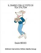 Dada180303 - IL DIARIO CON LE FOTO DI TEA STILTON