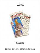 Toponia - AVVISO