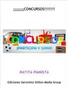 RATITA PIANISTA - ¡¡¡¡¡¡¡¡CONCURSOS!!!!!!!!