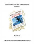 Alex910 - Semifinalistas del concurso de poesia.