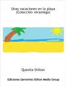 Quesita Stilton - Unas vacaciones en la playa(Colección veraniega)