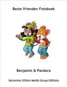 Benjamin & Pandora - Beste Vrienden Fotoboek
