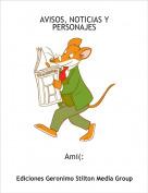 Ami(: - AVISOS, NOTICIAS Y PERSONAJES