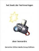 door leonardro - het boek der herinneringen