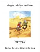 CERTOSINA - viaggioi nel deserto alboom n1
