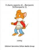 consy - Il diario segreto di...Benjamin  Stilton(parte 2)