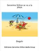 Diegofv - Geronimo Stilton se va a la playa