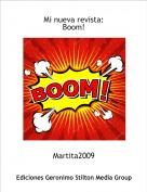 Martita2009 - Mi nueva revista:Boom!