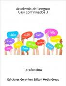 larafontina - Academia de LenguasCasi confirmados 3