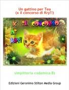 simpittoria codamica B) - Un gattino per Tea(x il concorso di Kry!!)