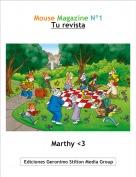 Marthy <3 - Mouse Magazine Nº1Tu revista