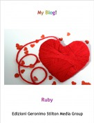 Ruby - My Blog!