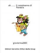 grovierina2003 - oh ..... il compleanno di Pandora