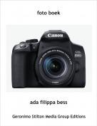 ada filippa bess - foto boek