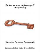Sanneke Panneke Pannekoek - De kamer voor de koningin 7 de oplossing