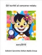 aury2010 - Gli iscritti al concorso votatu