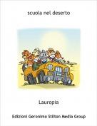 Lauropia - scuola nel deserto