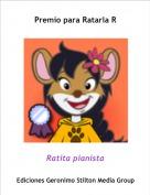 Ratita pianista - Premio para Ratarla R