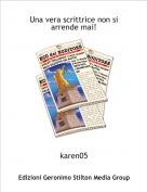 karen05 - Una vera scrittrice non si arrende mai!