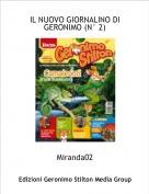 Miranda02 - IL NUOVO GIORNALINO DI GERONIMO (N° 2)