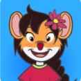 souris rousse